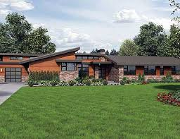 modern contemporary ranch house plan w69510am stunning contemporary ranch home plan e