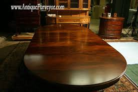 Brilliant Round Dining Table With Leaf Round Mahogany Dining Room - Dining room tables with extensions