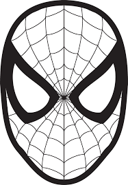 spiderman face logo spiderman mask clipart 23425wall jpg fun