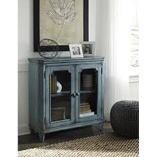 largo antique double door cabinet ashley furniture mirimyn antique teal accent cabinet with 2 framed