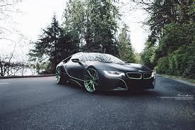 bmw supercar black bmw i8 brixton forged wheels