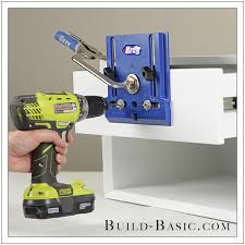 cabinet hardware drilling jig how to use a kreg cabinet hardware jig build basic