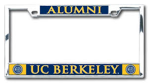 uc berkeley alumni license plate uc berkeley alumni boxter laser license plate frame shop college