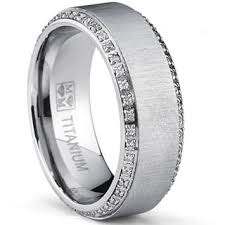 mens titanium wedding band titanium men s wedding bands groom wedding rings for less