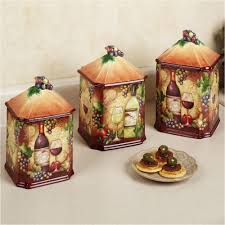 decorative kitchen canisters 100 glass kitchen canisters sets international tuscan view