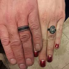 finger ring couple tattoo creativefan