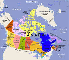 combined map of usa and canada south canada map major tourist attractions maps