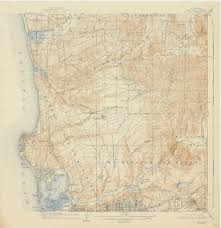 Map Of San Diego County by Sdag Online Historical Topographic Maps San Diego County