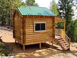 hunting cabin kits house plan ideas