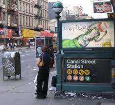 New York City Subway Street Map by Canal Street New York City Subway Wikipedia