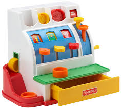 Fisher Price Toy Box Amazon Com Fisher Price Cash Register Toys U0026 Games