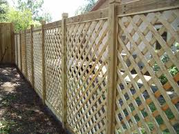 lattice fence 6ft wood lattice picture frame fence gardens