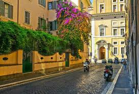 free photo italian motorcycle rome tree flower italy max pixel