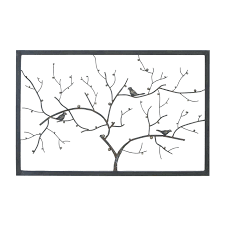 wall arts metal tree wall art with picture frames tree of life