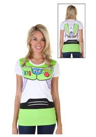 Woody Halloween Costumes Women U0027s Toy Story Buzz Lightyear Costume Shirt