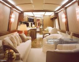 luxury motorhome interior stock photo getty images