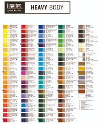 liquitex hb color chart painting ideas u0026 techniques pinterest
