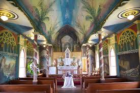 st benedict u0027s painted church only in hawaii