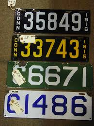 Ct Vanity License Plate Lookup Hap Moore Antiques Auction April 29 2006