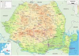 Map Of Romania Tabbies In Tow La țară Into The Heart Of Romania