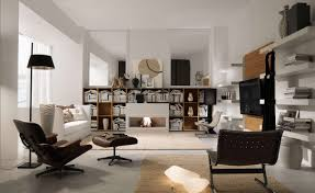 homes interior design photos bookshelf as room focus in interior design