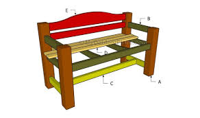 outdoor wooden bench plans myoutdoorplans free woodworking