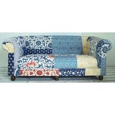 Patchwork Chesterfield - vintage patchwork chesterfield sofa kitsch