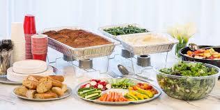 aluminum serving trays bowls u0026 utensils aluminum pans chafing