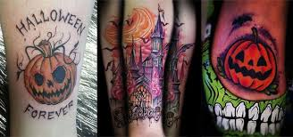 18 scary u0026 creative halloween inspired temporary tattoo designs