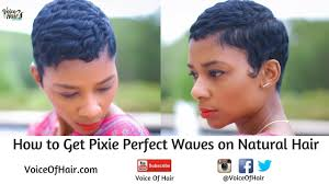 best relaxers for short black hair how to achieve pixie perfect waves on natural hair no relaxer