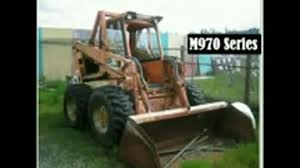 bobcat m 970 skid steer loader service repair workshop manual