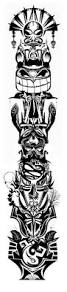 tribal stag tattoo best 25 totem tattoo ideas only on pinterest totem pole tattoo