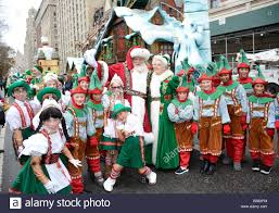 thanksgiving in usa 2014 new york ny usa 27th nov 2014 santa claus in attendance for