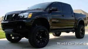 black nissan photo collection black nissan titan lifted