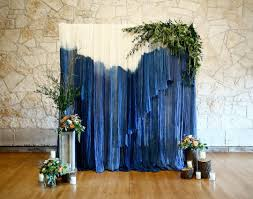 wedding backdrop blue wedding ceremony venue ceremony backdrop ideas brodie