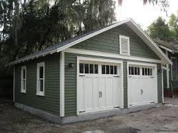 bungalow garage plans custom two car garage with attached workshop garage design