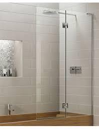 Inward Opening Shower Door Matki Eauzone Plus Panel Bath Screen Inwards Opening Epd