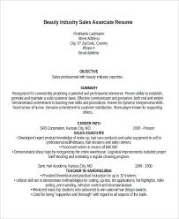 Electronic Resume Example by Sales Associate Resume Template 8 Free Word Pdf Document