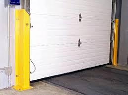 Overhead Door Track Guard Provides Overhead Door Protection