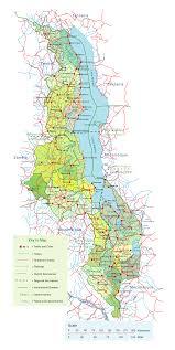 San Jose District Map by Malawi Map