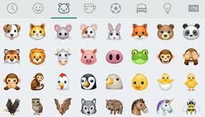 imagenes de animales whatsapp nuevos emojis para whatsapp clipset