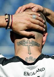 tetu in hand david beckham u0027s 40 tattoos and the special meaning behind each