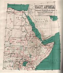 Map Of East Africa by Hyperwar East African Campaign 1940 41