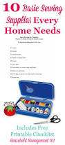 Household Items Checklist by Basic Sewing Kit 10 Basic Sewing Supplies You Need In Your Home