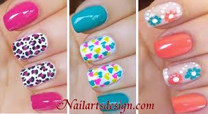 3 cute nail art designs nail designs