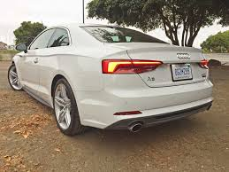 audi a5 2 door coupe 2018 audi a5 coupe 2 doors are sweeter than 4 review the fast