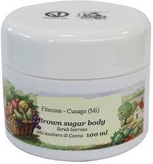 Scrub Di Shop fitocose brown sugar smoothing scrub 100 ml ecco verde