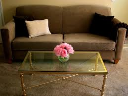 Glass Coffee Table Decor Coffee Tables Beautiful Furniture Glass And Gold Coffee Table