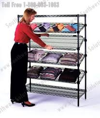 Metal Wire Shelving by Rolling Wire Carts Stainless Storage Shelving Dallas Houston