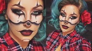 Female Joker Halloween by Gangster Clown Halloween Tutorial Chrisspy Youtube